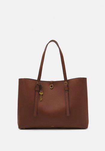 VEGAN KIER CACTUS TOTE BROWN - Tote bag - brown