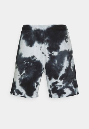 CLASSIC TIE DYE UNISEX - Shorts - black