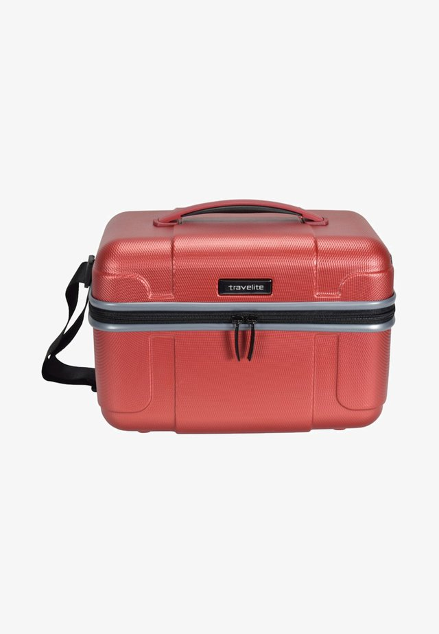 VECTOR - Wash bag - coral