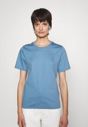 DEIRO - T-shirt basic - light indigo
