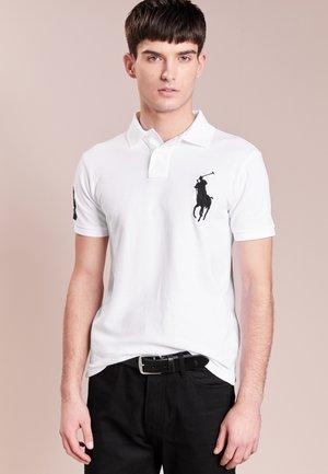 BASIC SLIM FIT - Polo shirt - white