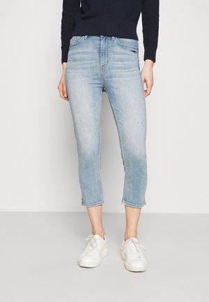 CROPPED - Skinny džíny - light blue denim
