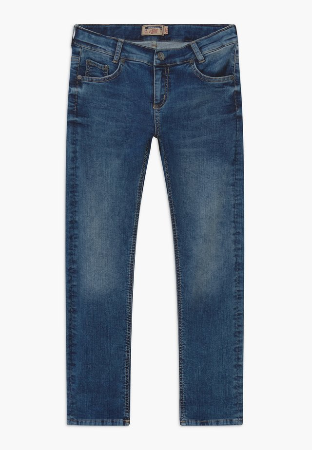 BOYS - Jeans a sigaretta - medium blue