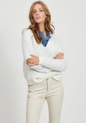 VIOA  - Jersey de punto - white alyssum