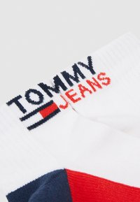 Tommy Jeans - UNISEX QUARTER 2 PACK - Socks - white - 1