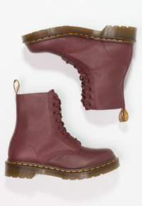 Dr. Martens - 1460 PASCAL 8 EYE BOOT  - Lace-up ankle boots - cherry red - 2