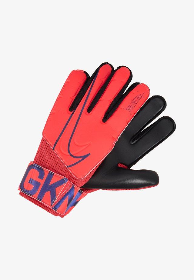 MATCH - Goalkeeping gloves - laser crimson/black/black