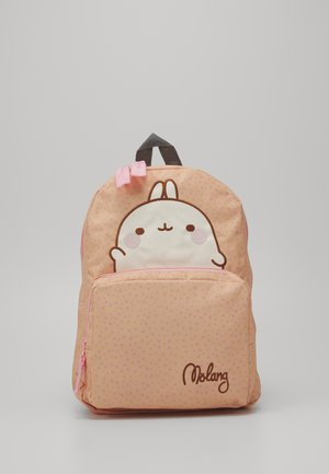 BACKPACK MOLANG HELLO LARGE - Ryggsekk - peach
