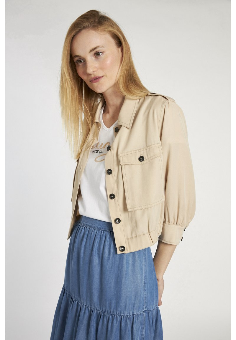 More & More - Light jacket - beige