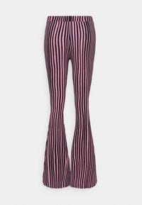Stieglitz - Trousers - pink/black - 1