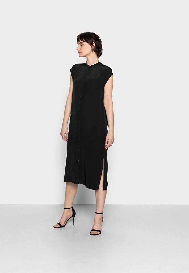 Opus - WIMILA - Shirt dress - black