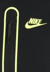 Nike Sportswear - HOODIE - Zip-up hoodie - black/volt - 2