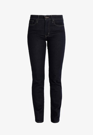 Slim fit jeans - dark-blue denim, rinsed denim