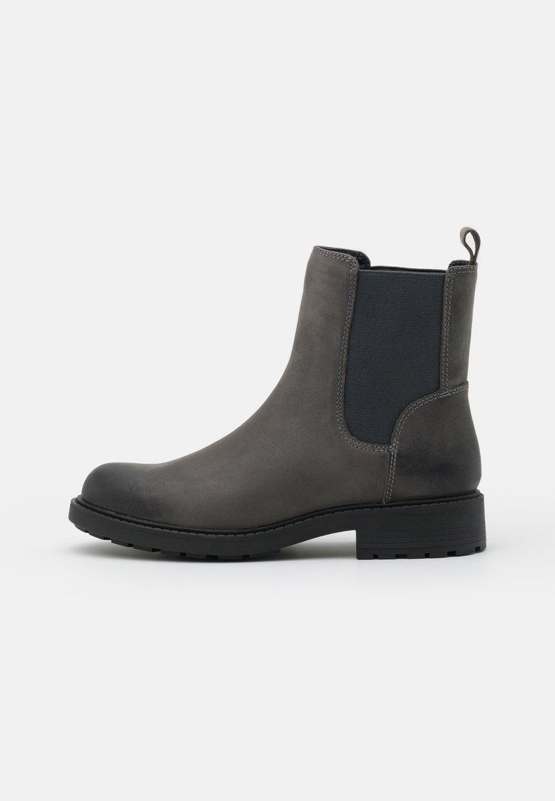Clarks - ORINOCO TOP - Classic ankle boots - dark grey