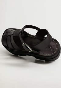 Mango - ROMA - Platform sandals - noir - 5