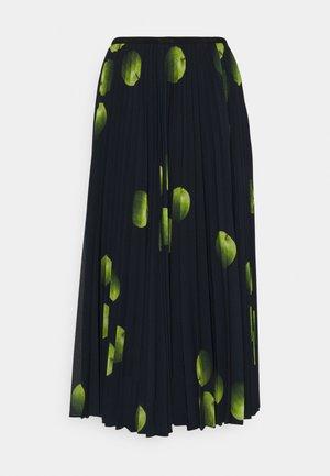 WOMENS PLEATED SKIRT - Pleated skirt - dark blue