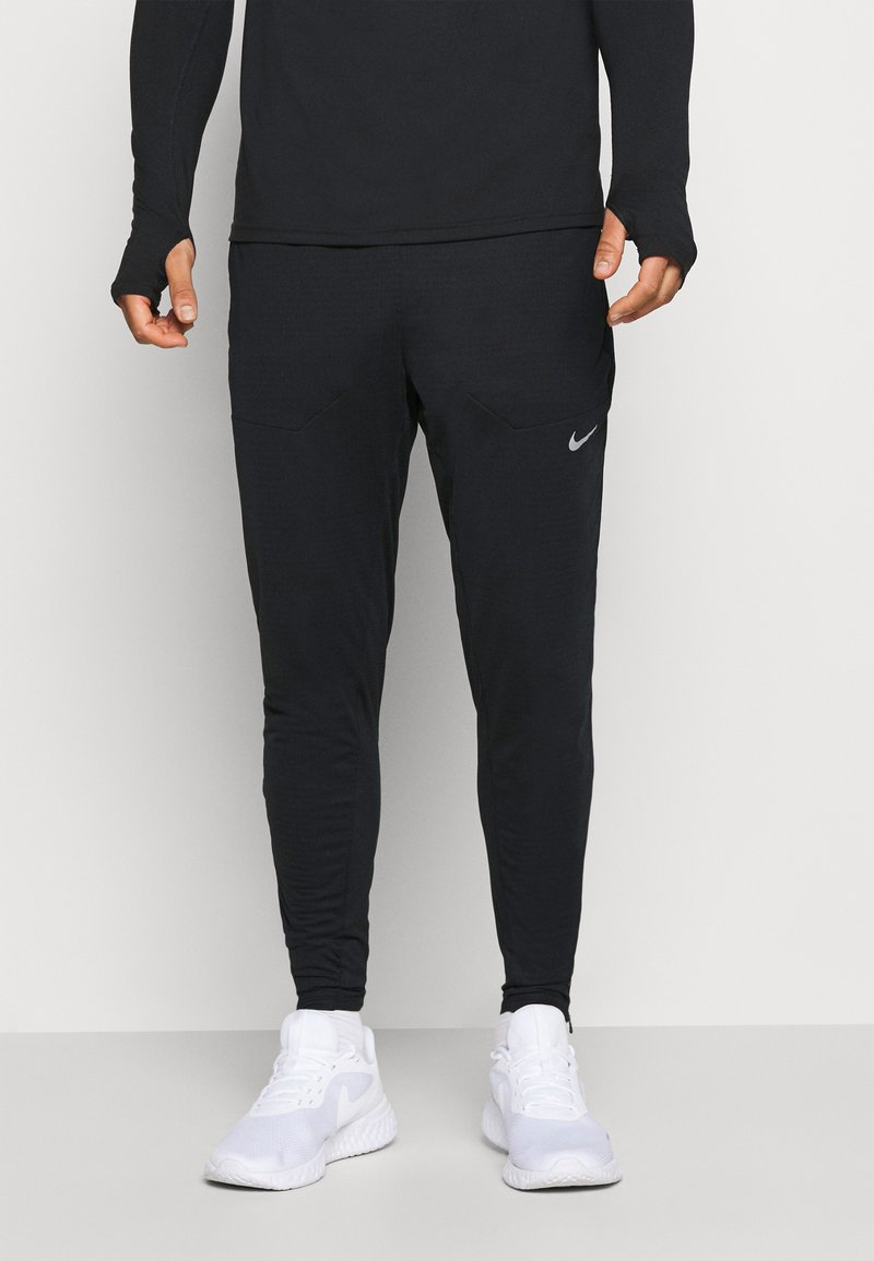 Nike Performance - ELITE PANT - Jogginghose - black/black/reflective silver