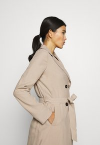 Dorothy Perkins - BUTTON FRONT - Trench - stone - 3