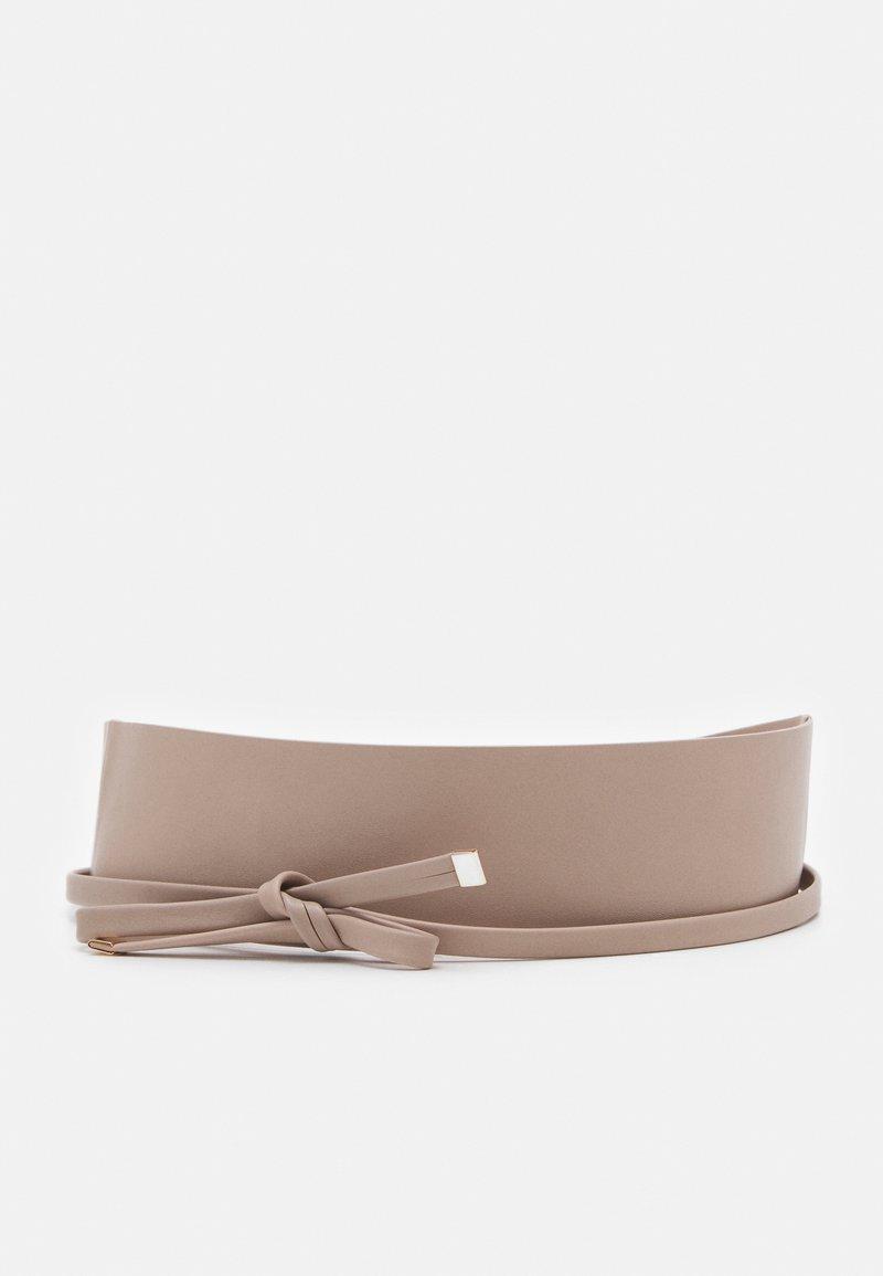 PARFOIS - WAISTBAND BELT GENERAL BELTS - Waist belt - taupe