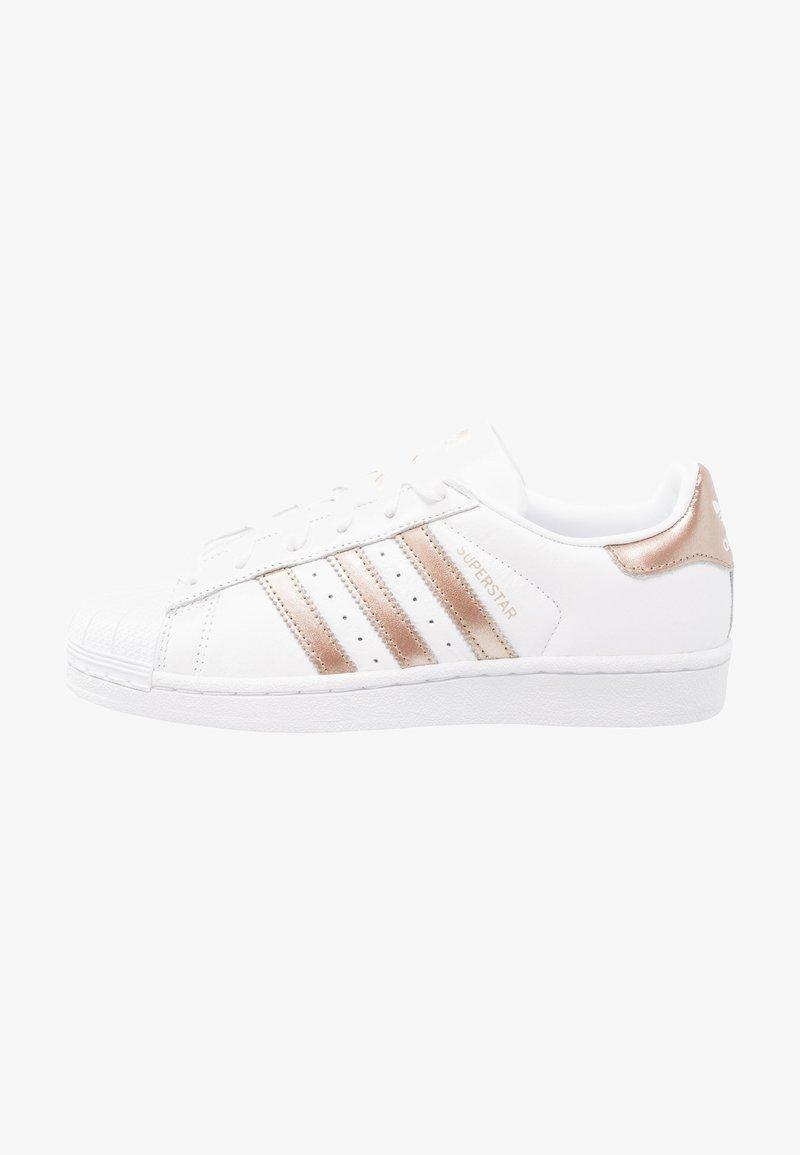 adidas Originals - SUPERSTAR - Sneakers laag - footwear white/cyber metallic