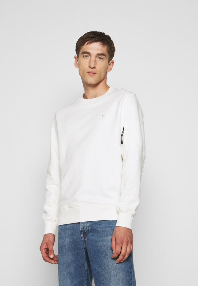 CREW NECK - Sweatshirt - gauze white