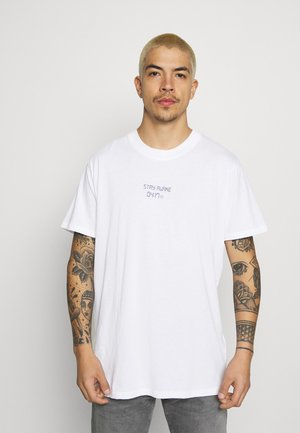 TIME - T-shirt print - white