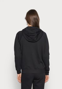 Nike Sportswear - HOODIE - Sweat à capuche zippé - black/white - 2