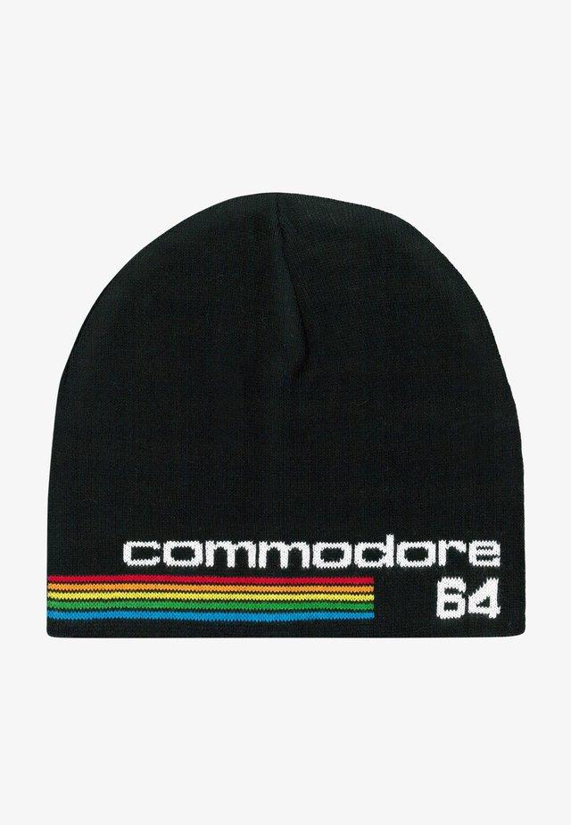 COMMODORE - Beanie - black