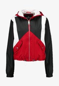 Hollister Co. - CORE FULL ZIP - Windbreaker - red/black/white - 4