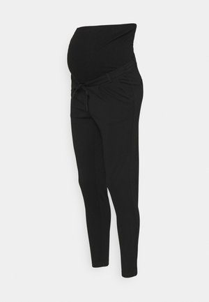 OLMPOPTRASH EASY LIFE PANT - Trousers - black