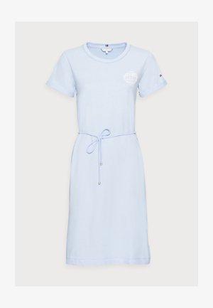ONE PLANET - Jersey dress - sweet blue