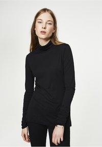ARMEDANGELS - MALENAA - Long sleeved top - black - 0