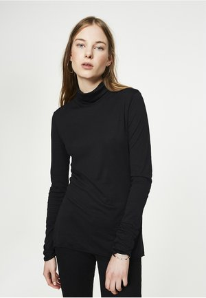 MALENAA - Long sleeved top - black