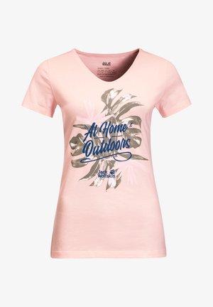 AT HOME  - Print T-shirt - blush pink