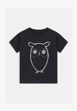 FLAX OWL - Print T-shirt - total eclipse