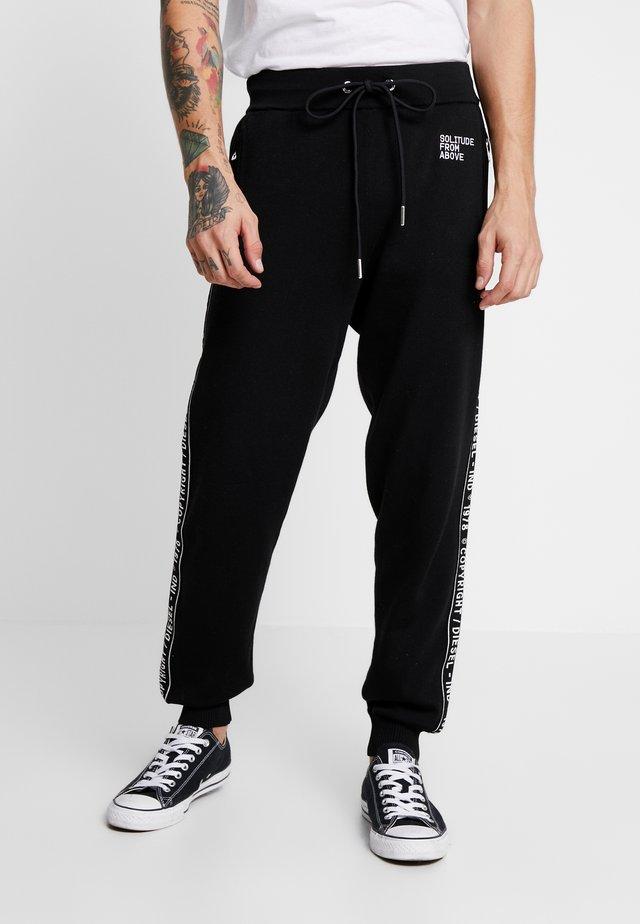 K-SUIT-C TROUSERS - Teplákové kalhoty - black