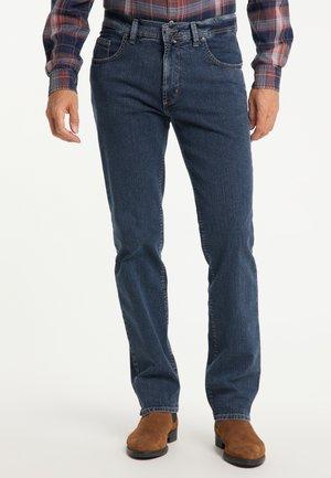 Straight leg jeans - stone