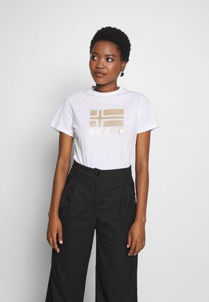 SHYAMOLI - Print T-shirt - bright white