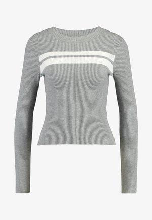 Jumper - grey/white