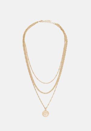 BONNA COMBI NECKLACE - Necklace - gold-coloured