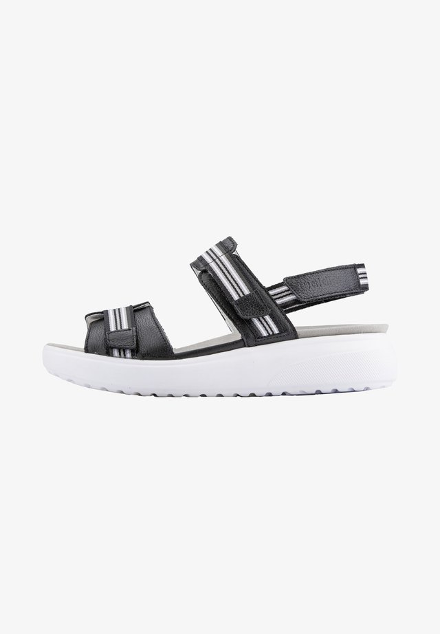 H-VERA - Sandales à plateforme - schwarz