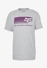 Fox Racing - DRIFTER TEE - T-Shirt print - light heather grey - 3