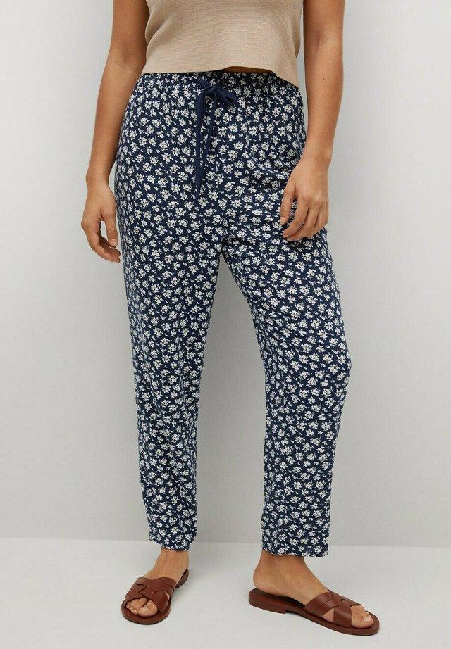 Pantalones - dunkles marineblau