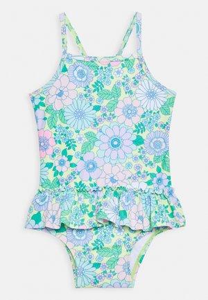 LUCINDA RUFFLE SWIMSUIT - Swimsuit - pink quartz