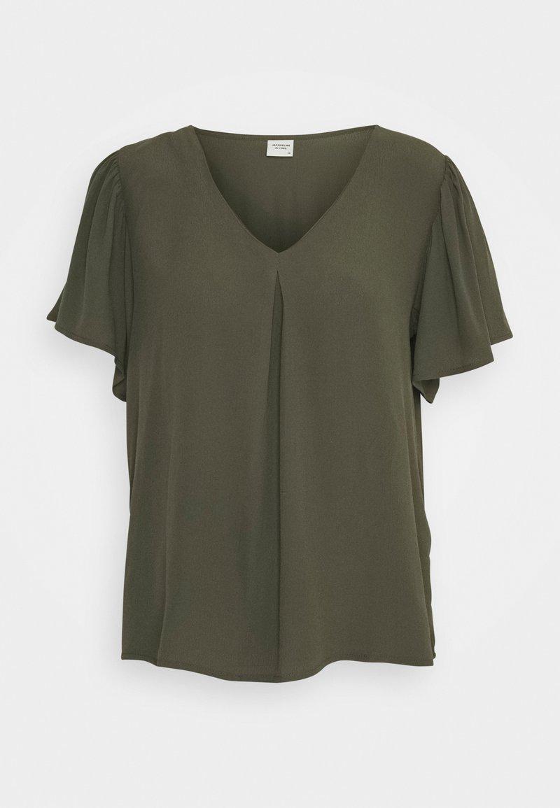 JDY - JDYLEA  - Basic T-shirt - kalamata