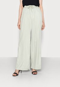 Missguided Tall - WIDE LEG TROUSER - Trousers - sage - 0