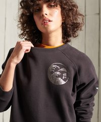Superdry - SUPERDRY BOHEMIAN - Sweatshirt - blackbean - 2