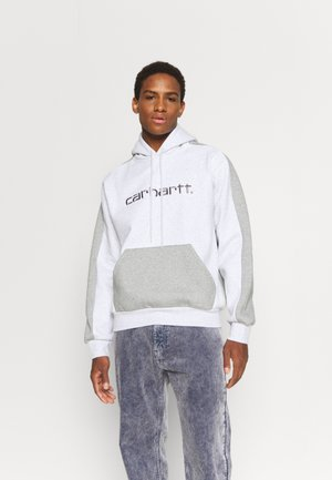 HOODED TONARE - Sweatshirt - ash heather/grey heather/shiver