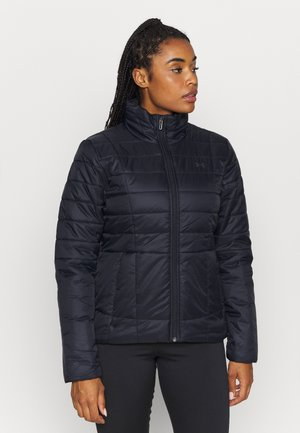 INSULATED JACKET - Kurtka zimowa - black