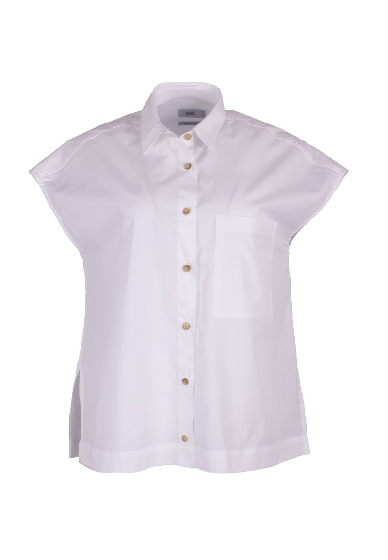 CLOSED - Button-down blouse - white
